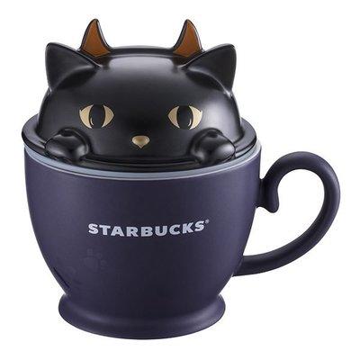 Starbucks 星巴克 黑貓 捉迷藏 馬克杯 2018 萬聖節 台灣限定 10oz