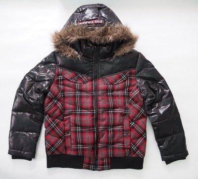BIG TRAIN 羅志祥 羊毛+羽絨外套(帽子可拆開)尺寸︰L(非AES.REMIX)