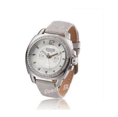 【Woodbury Outlet Coach 旗艦館】COACH 14501369 時尚女手錶休閑精美鑲鑽石英錶 美國代購100%正品