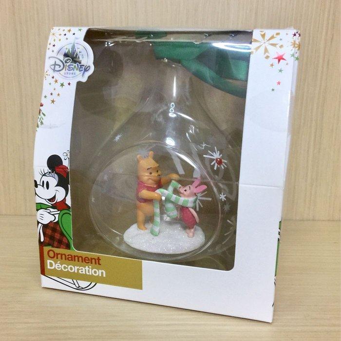 迪士尼 小熊維尼 耶誕 吊飾 絕版
