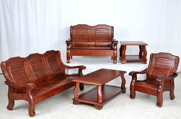 【DH】貨號K130商品名稱 古典簡約造型實木1.2.3套組椅˙質感一流˙台灣製造˙可拆賣˙主要地區免運
