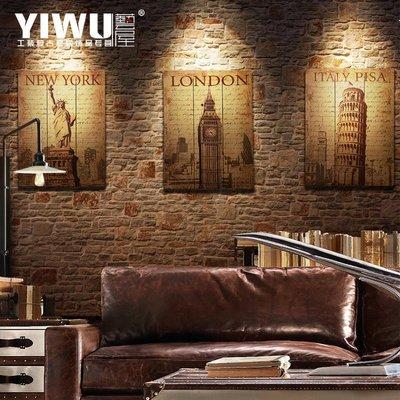 〖洋碼頭〗美式復古木板畫 裝飾無框壁畫 服裝店咖啡館酒吧懷舊牆飾牆畫掛畫 ywj105