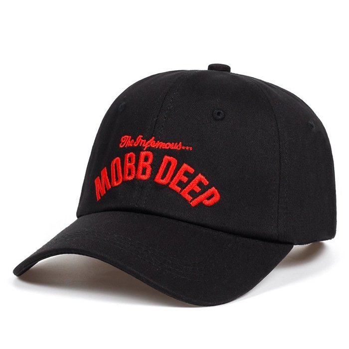 FIND 韓國品牌棒球帽 男女情侶 時尚街頭潮流 MOBB DEEP字母刺繡 帽子 太陽帽 鴨舌帽 棒球帽