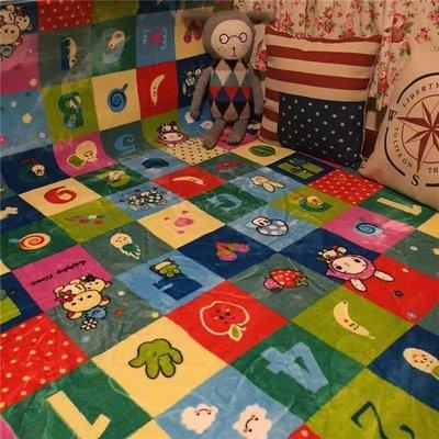 特價現貨 潮牌可機洗卡通地毯客廳茶几臥室床邊毯寶寶兒童房爬行地墊