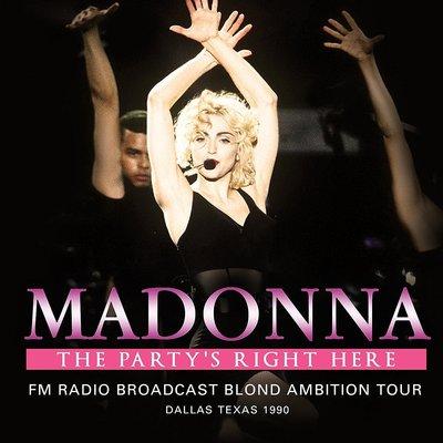 正版2CD《瑪丹娜》/ MADONNA The Party's Right Here (2 x CD SET - The