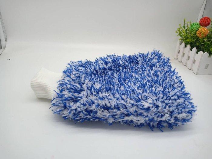 McPRO專業珊瑚絨洗車手套WashMittens