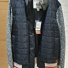 新春特惠價 Roots Cabin Quilted Jacket 夾克 鋪棉夾克 衣袖羊毛40% 全新 現貨