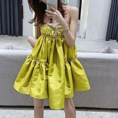 韓版訂製小洋裝 氣質圓裙 澎澎裙 顯白顯瘦