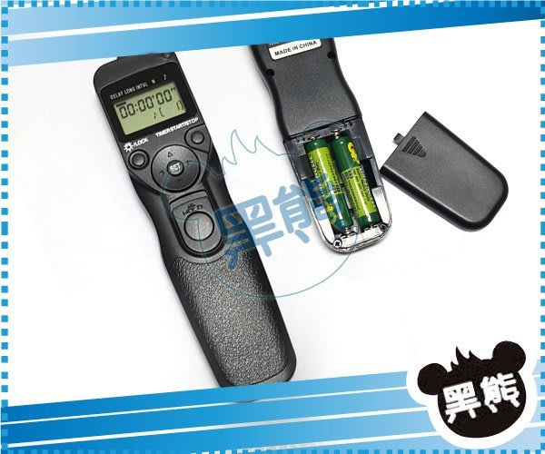 黑熊館 C1快門線 液晶定時 電子快門線 RS-60E3 Pentax K10D、K100D、K200D