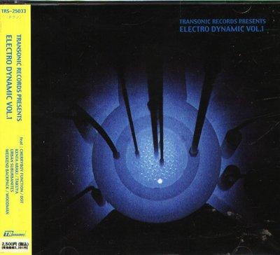 K - Transonic Records Presents Electro Dynamic Vol.1 日版 NEW