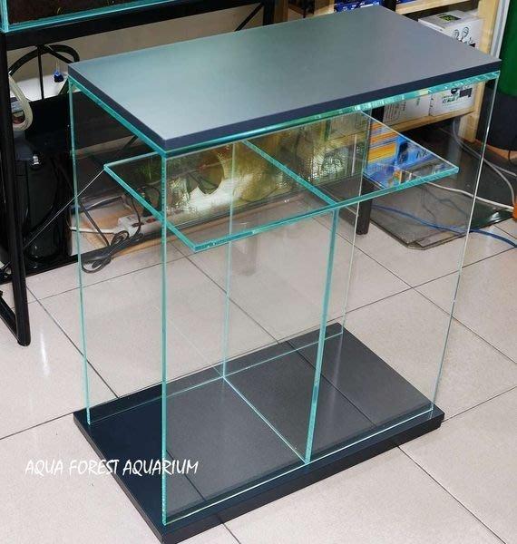◎ 水族之森 ◎ AQUA FOREST AQUARIUM X 類 ADA 超白玻璃 透明底櫃 60P 專用 銀灰 初登場