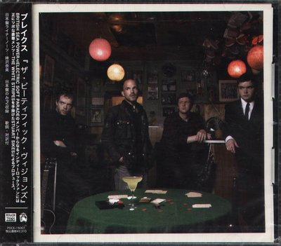 K - Brakes - The Beatific Visions - 日版 CD+1VIDEO - NEW