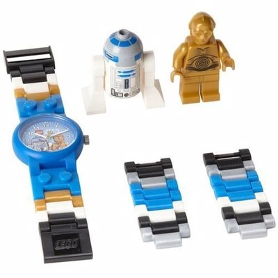 樂高LEGO兒童手錶+C3PO + R2D2 巴斯光年人偶 鋼鐵人 蜘蛛人 蝙蝠俠 海賊王 星際大戰 白兵 黑武士 CK