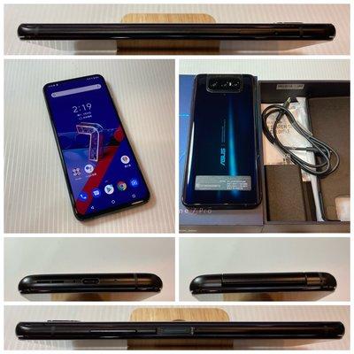 二手機 ASUS ZenFone 7 ZenFon7 PRO 8G/256G 6.67吋 黑色 ZS671KS 587