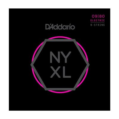 【成功樂器 . 音響】D'Addario NYXL 0980 Nickel Wound 電吉他弦 八弦