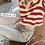 ❤Princess x Shop❤短袖條紋T恤女夏新款顯瘦polo衫心機露背上衣TJ-49-2
