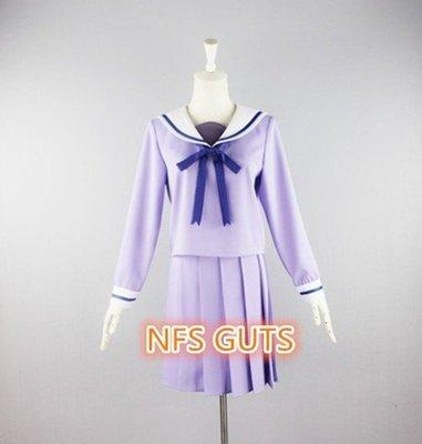NFS CUTS 野良神 流浪神差 壹岐日和 校園制服Cosplay專業服裝訂做COS高還原細節 簡約全套衣服 優惠