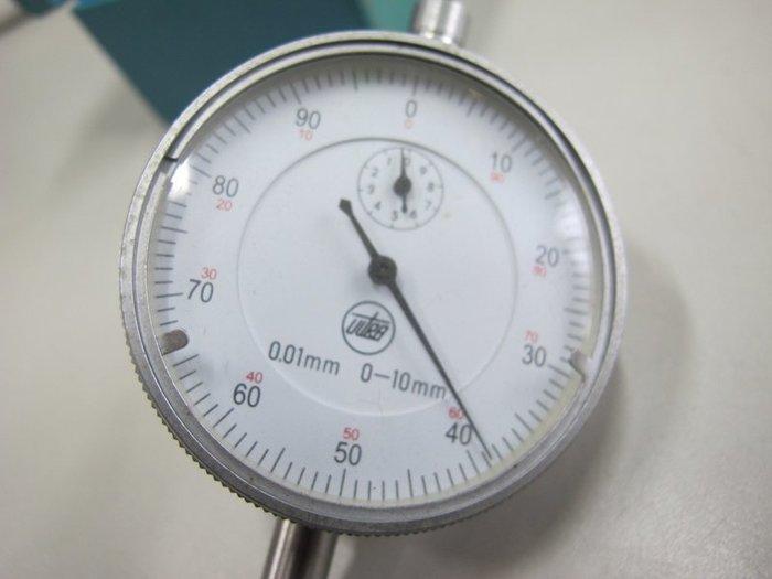 二手舖~NO.417 進口德國Ultra小孔深度尺 指示針深度計 mm呎