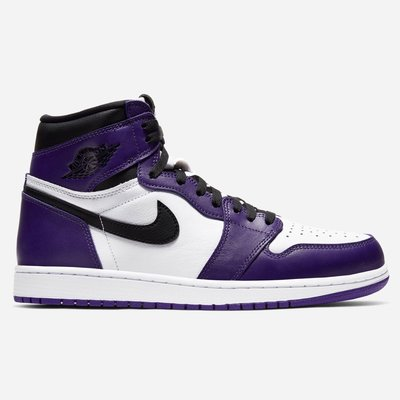 R'代購 Jordan 1 Retro High Court Purple 白紫 555088-500 男女