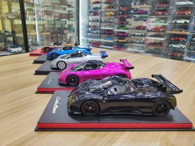 Peako 1:18 帕加尼 風之子 Zonda Monza仿真樹脂汽車模型1 18收藏 台北市