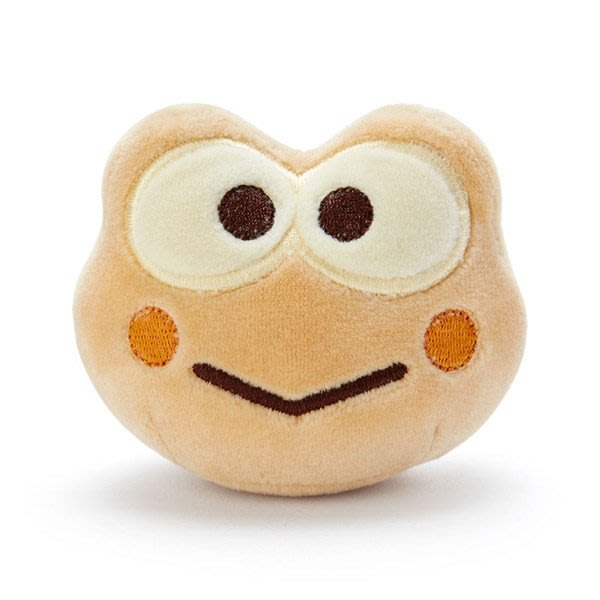 GIFT41 4165本通 迷你造型玩偶 大眼蛙 -面包 4901610053324