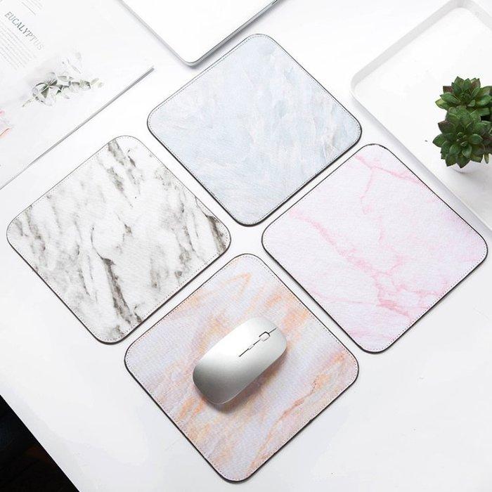 大理石紋滑鼠墊 絨底防滑耐磨 電腦 筆電 禮品活動贈品-艾發現