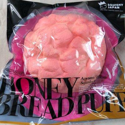 ❤️蜂蜜奶油泡芙❤️ 特價 ibloom 日本原單 淡淡草莓香 大泡芙麵包 squishy 軟軟 慢回彈