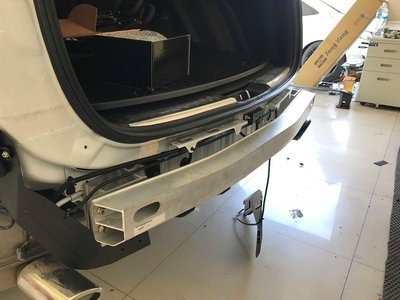 【桃園文中小沈】本田 2017-2018 CRV 5 CR-V 5 專用 後保桿內鐵 後保桿強化樑 鋁製 美規 類原廠