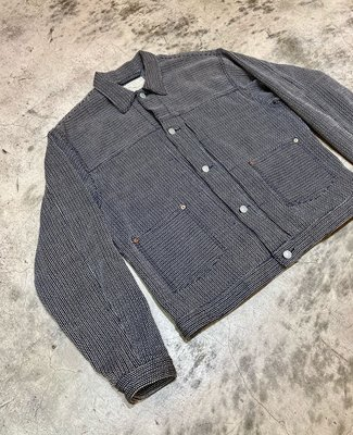 Journal Standard J.S.Homestead Indigo Sasico Montgomery Jacket 藍染 刺子2nd外套