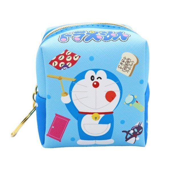 哆啦A夢Doraemon方型零錢包鎖圈,長錢包/錢包袋/短夾/長夾/中夾/零錢包/皮夾,X射線【C191772】
