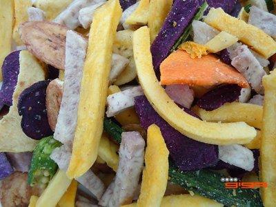 【吉嘉食品】乾燥綜合蔬菜蔬果脆片~500公克,素食[#500]{JN10}