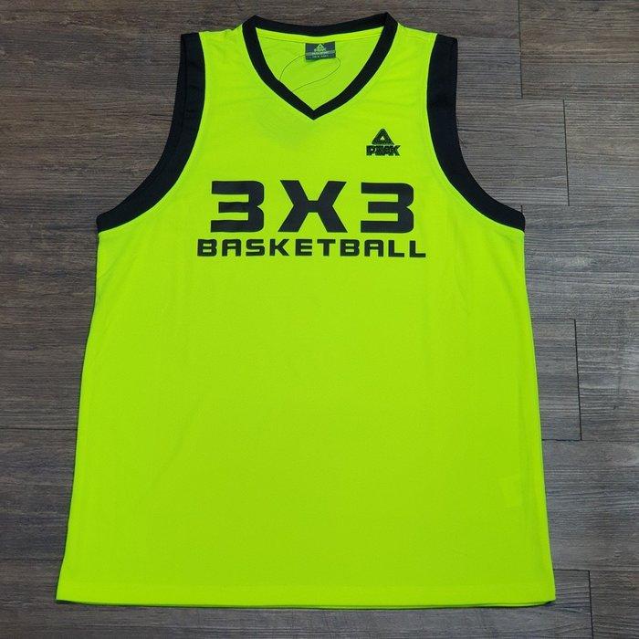 PEAK 球衣 3x3系列 黑字款  F771107  亮禹體育PEAK台灣經銷商