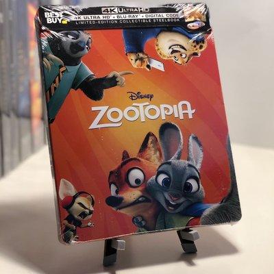 迷俱樂部|現貨!動物方城市 [藍光BD] 4K UHD+BD 雙碟鐵盒版 美版 Zootopia 迪士尼 奧斯卡最佳動畫