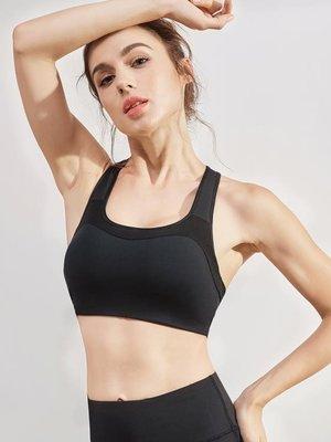 防震跑步專業運動文胸女聚攏定型瑜伽內衣美背健身bra