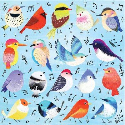 拼圖世家美國正品進口 mudpuppy拼圖  小鳥音樂家Songbirds500片 成人送禮