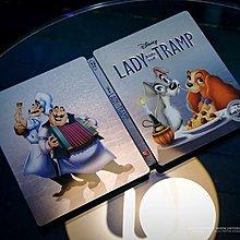 毛毛小舖--藍光BD 小姐與流氓 BD+DVD 雙碟BB獨家限量鐵盒版 Lady and the Tramp