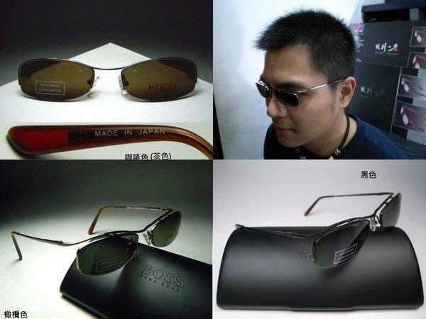 信義計劃 眼鏡 HUGO BOSS 太陽眼鏡 日本製 半框下無框 anti-scratch 抗刮鏡片sunglasses