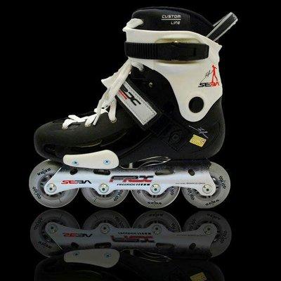 SEBA直排輪 SEBA FRX初級直排輪平花鞋US8號,適腳長23.5~25.5公分