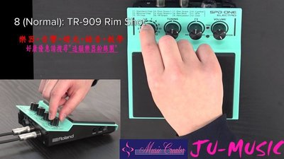 造韻樂器音響- JU-MUSIC - 全新 Roland SPD ONE SPD-1E SPD 1E 數位 電子 打擊板