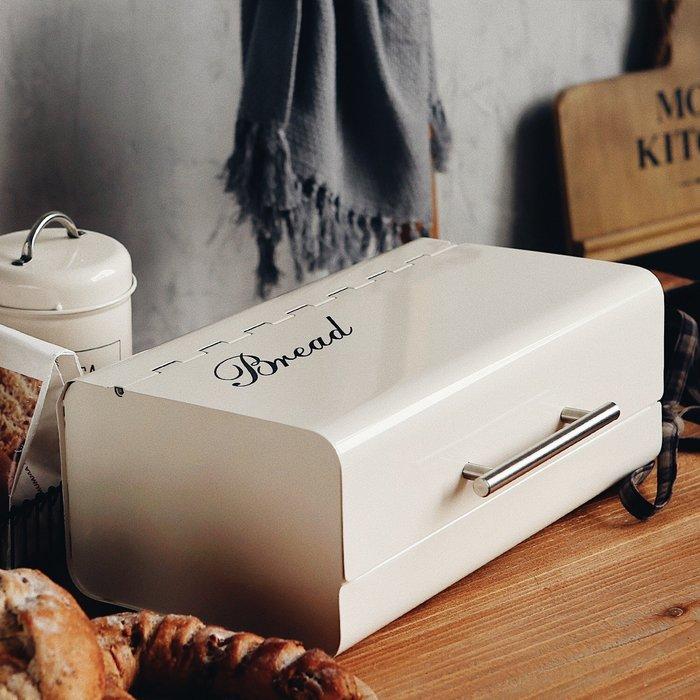 MAJ.POINT-韓式 麵包箱 鐵皮 雜物化妝收納箱 點心 蛋糕 餅乾 鑰匙 收納盤 拍照道具 商品代購 現貨+預購