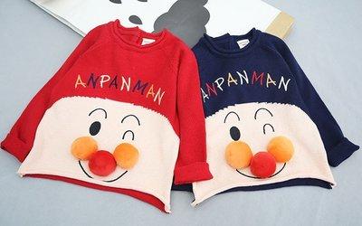 【Mr. Soar】 D133 春季新款 日系童裝男女童立體毛球卡通針織長袖上衣 小中童 現貨