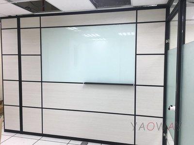【耀偉】鋁框高隔間 (辦公桌/辦公屏風-規劃施工-拆組搬遷工程-組合隔間-水電網路)10