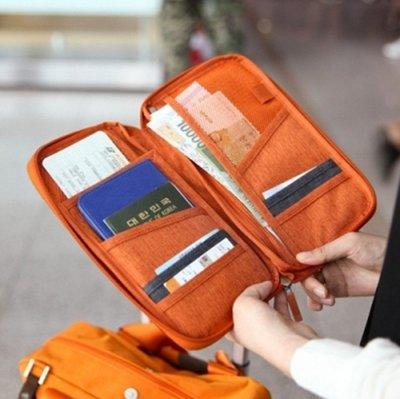 旅游護照包多功能護照保護套機票夾旅行證件收納包大票夾出國出差