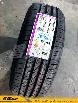 昌奕輪胎 NEXEN SU4 215/55/17 現金完工2900元 非 MAXXIS I-ECO 普利司通 PLAYZ