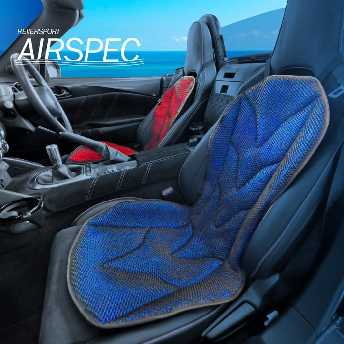 【翔浜車業】日本純㊣Mission-Praise REVER SPORT AIRSPEC 3D空氣涼感機能椅墊(日本製)
