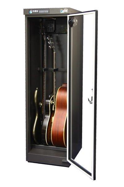 ☆ 唐尼樂器︵☆防潮家 D-215EG 木吉他/電吉他/ Bass 電貝斯專業型防潮箱(指針顯示型)