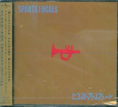 K - SPARTA LOCALS - Second Fanfare - 日版 - NEW