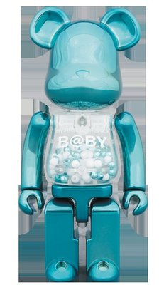 BE@RBRICK B@BY Turquoise Ver. Steampunk Ver BEARBRICK MY FIRST BABY 超合金 200%