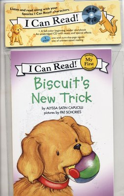 *小貝比的家*BISCUIT'S NEW TRICK /平裝書+CD/3~6歲
