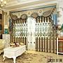 上門安裝法式浪漫客廳落地窗歐式窗簾雪尼爾...